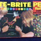 Vintage Lite-Brite 5455 Pegs Refill Kit Unopened Packs 1975 Hasbro Toy