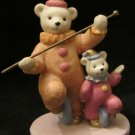1993 Avon Collectibles figurine of 2 bears dressed as clowns