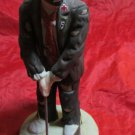 vintage Emmett Kelly Jr collectible figurine by Flambro 1984 clown golf golfing