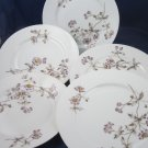 "CFH GDM Haviland French Limoges purple passion flower 7-7/8"" dish plates"