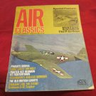 June 1972 Air Classics magazine with Mustang Roundup P-51 Saga on the cover