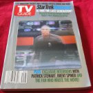 December 7-13 2002~TV Guide~Star Trek Nemesis hologram~3D animation~FREE US SHIP