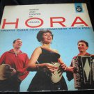 Oranim Zabar Troupe~Hora: Songs and Dances of Israel vintage vinyl/record/LP