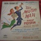 The Music Man Original Broadway Cast Record/vinyl/LP~FREE US SHIPPING