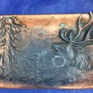 1857-1907 Copper Tray M Sickes & Sons Manufacturing Jewelers Philadelphia