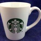 2012 Starbucks Coffee Mug White With Mermaid Logo 14 Oz Ounces Mistake Misprint