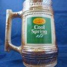 Vintage Labatt Cool Spring Beer Biere Mug Stein Original Pioneer Brewery