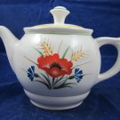 Vintage Arabia Made in Finland Teapot tea pot ARA55 Windflower flower Motif