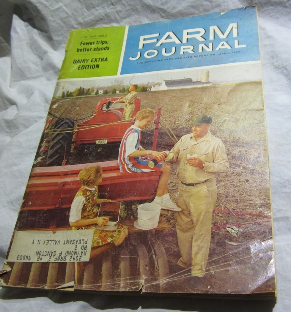 April 1965 Farm Journal Magazine~Eastern edition~Dairy Extra