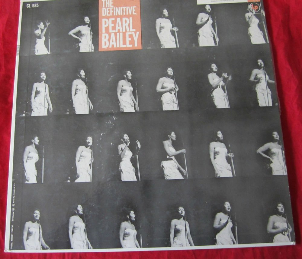 The Definitive Pearl Bailey by Pearl Bailey Record/Vinyl/LP~FREE US SHIPPING