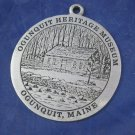 2002 Ogunquit Maine Heritage Museum ornament Christmas By the Sea metal