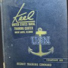 1959 US Navy Recruit Training Yearbook THE KEEL GREAT LAKES IL Company 485