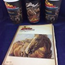 2015 San Antonio Texas Stock Show & Rodeo Program and Souvenir Cups