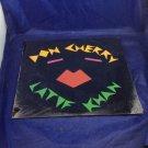 Vintage Sealed Don Cherry Latif Khan Lp Record Album Vinyl