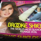 "Brooke Shields fully posable 11.5"" doll in box~wearing blue sweater~by LJN Dolls"