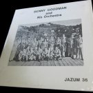 Benny Goodman and his Orchestra~Jazum 36~vintage vinyl/record/LP~FREE US SHIP