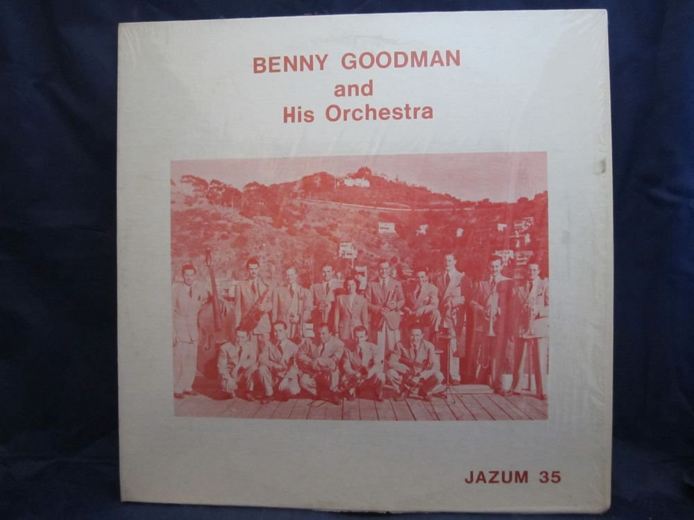 Benny Goodman and his Orchestra~Jazum 35~vintage vinyl/record/LP~FREE US SHIP
