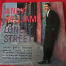 Lonely Street by Andy Williams LP/vinyl/record~FREE US SHIP