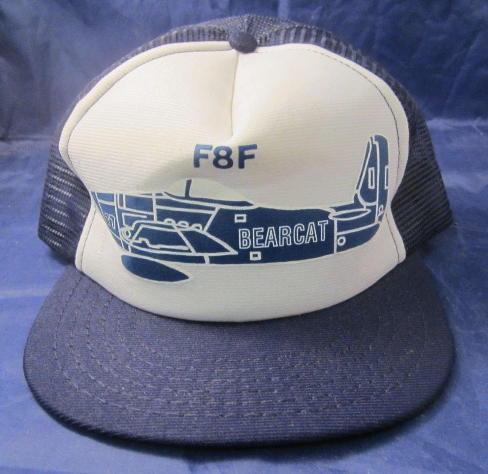 F8F Bearcat snapback baseball cap snap back mesh hat