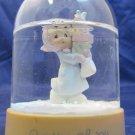 Bundles of Joy Precious Moments snow globe 1991 snowglobe waterball pink base