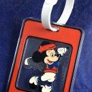 Disney World Productions Mickey Mouse Luggage Tag Golf Golfer Golfing