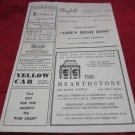 Bushnell Playbill,1944-1945 Season~Horace Bushnell Memorial Hall Hartford CT
