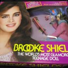 "Brooke Shields fully posable 11.5"" doll in box~wearing pink sweater~by LJN Dolls"