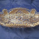 oval relish dish bowl by Imperial Glass Crystal