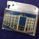 1963 Jamaica Savings Bank Nesor-Rosen Lighter Queens NY Tobacciana Japan