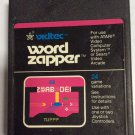 Word Zapper Vidtec 1982 Atari 2600 / Sears Video Arcade Video Game Cartridge