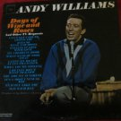 Days of Wine and Roses and other TV Requests~Andy Williams LP/vinyl/record