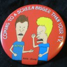 1996 BEAVIS AND BUTTHEAD DO AMERICA movie PIN theater promo MIKE JUDGE