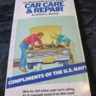 1979 US Navy Recruiting Promo item~Car Care & Repair Book~Naval Recruitment