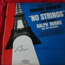 No Strings Attached Broadway vinyl record LP~FREE US SHIPPING