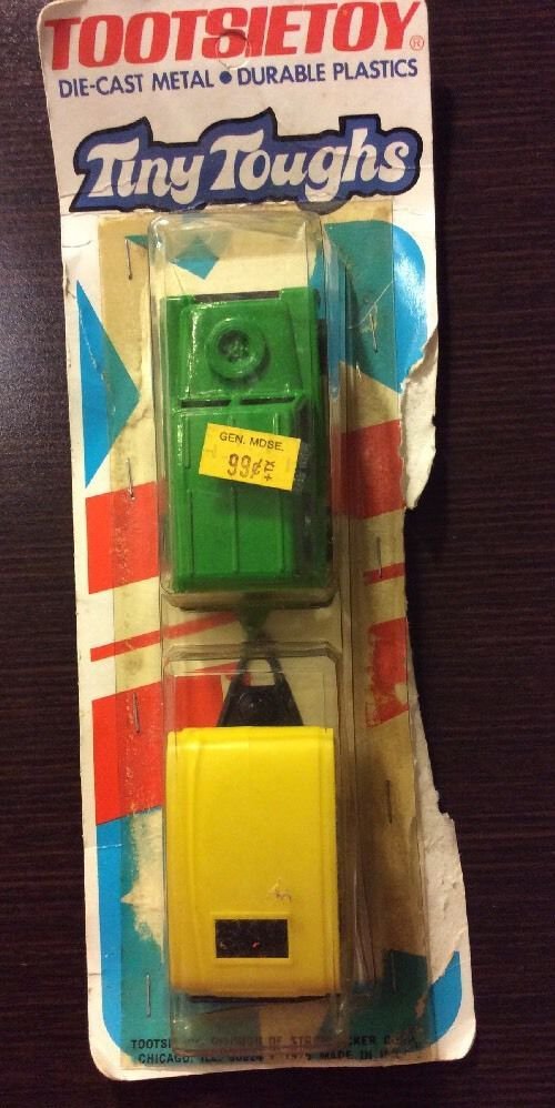 Tootsietoy Tiny Toughs Hitch-Ups Car And Camping Trailer 2301 Mint On Card 1976