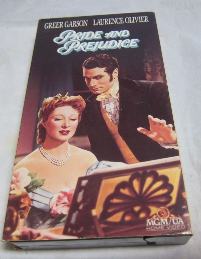 Pride and Prejudice (VHS videotape/video tape 1990)~FREE US SHIPPING