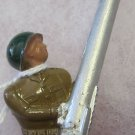 B258 Barclay Toy Soldier~Barclays~soldier anti aircraft gunner~free US SHIP