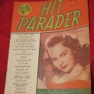 Hit Parader Magazine June 1950~ Terry Moore on cover~Daughter of Rosie O'Grady