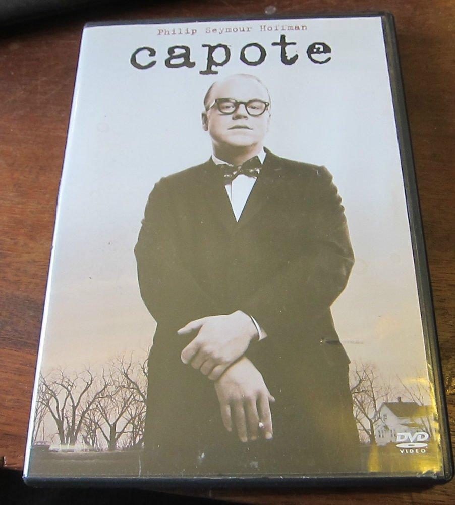 Capote DVD 2006 film starring  Philip Seymour Hoffman