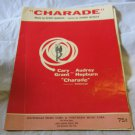 Charade sheet music~Henry Mancini~Cary Grant & Audrey Hepburn film FREE US SHIP