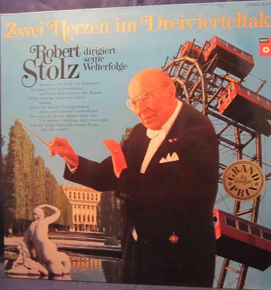Zwei Herzen in Dreivierteltakt Robert Stolz BASF 2921120-7 Grand Prix du disque