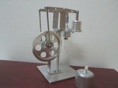 Stirling engine - Walking Beam Hot Air Stirling Engine , education toys, model kits ~ JAJ 1606