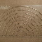 "1/8"" Clear Acrylic Laser Cut Quilting Template - 1-8 inch Circle Tool"