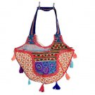 INDIAN BEAUTIFUL BANJARA PATCHWORK EMBROIDERED VINTAGE BAG CROSS PURSE ZIPSY