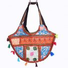 INDIAN PATCHWORK GYPSY BANJARA VINTAGE HANDMADE TRIBAL RARE BAG& PURSE ETHNIC