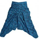 "INDIAN ALI BABA HAREM ""CIRCLE"" PRINT WOMEN BOHO YOGA TROUSER GYPSY BOHO BAGGY"
