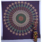 Indian Handmade Mandala Bedspread Table Cloth Bohemian Wall Hanging Tapestry Art