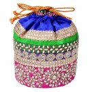 Clutch Handbag , Potli Bag Designer , Wedding&Fancy Bag Indian , Beads Work Bag,