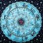 Indian Horoscope Zodiac Astrology  Wall Hanging Tapestry Bedsheet Decorat Hippie