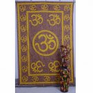 "Indian ""Om"" Mandala Wall Hanging Tapestry Yoga Hippie Curtain Bedspread Bedsheet"